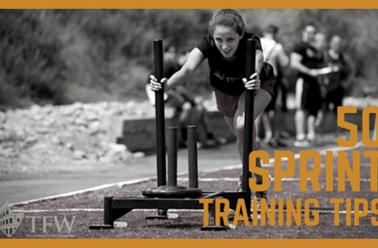 50 Sprint Training Tips